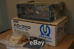 Pioneer AD-350 component car stereo mounting case EQ KP GEX made in Japan NOS