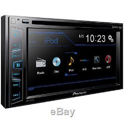 Pioneer AVH-190DVD Double DIN In-Dash DVD/CD/AM/FM Car Stereo with 6.2 Screen
