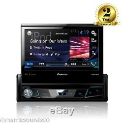 Pioneer AVH-X7800BT 7 Flip-out Screen CD DVD Bluetooth Car Stereo iPhone iPod