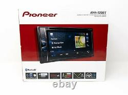 Pioneer AVH120BT Double Din Car Stereo DVD/MP3/CD Player 6.2 Inch Bluetooth