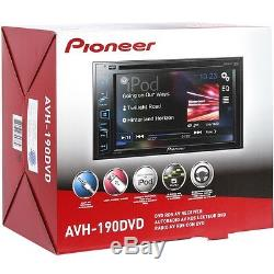 Pioneer AVH190DVD Double DIN In-Dash DVD/CD/AM/FM Car Stereo with 6.2 Display