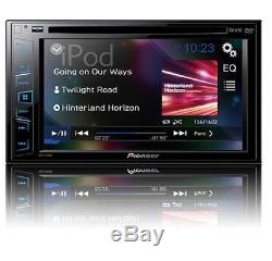 Pioneer Avh-190dvd Double-din 6.2 LCD Cd/dvd/mp3/usb Car Player Stereo Receiver