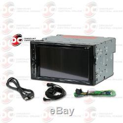 Pioneer Avh-210ex Car Double Din 6.2 Touchscreen Usb DVD CD Bluetooth Stereo