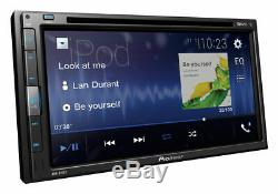 Pioneer Avh-310ex 6.8 Touchscreen Usb DVD CD Bluetooth Car Double Din Stereo-new