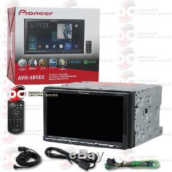 Pioneer Avh-601ex Car Double Din 7 Touchscreen DVD CD Bluetooth Appradio Stereo