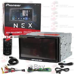 Pioneer Avh-w4400nex 7 2din Touchscreen Car CD DVD Stereo With Bluetooth & Wifi