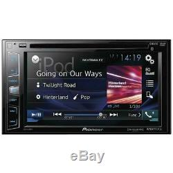 Pioneer Avh-x390bs Touchscreen Double DIN With Bluetooth DVD CD Car Stereo