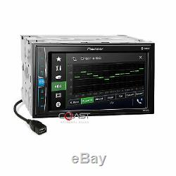 Pioneer BT Camera Ready Stereo Dash Kit SWC Amp Harness for GM Buick Chevrolet