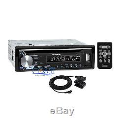 Pioneer Bluetooth Car Stereo Dash Kit Harness For 2004-2008 Chrysler Dodge Jeep
