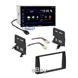 Pioneer Car Radio Stereo Double Din Dash Kit Harness for 2002-2006 Toyota Camry