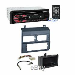 Pioneer Car Radio Stereo with Blue Dash Kit Harness for 1988-94 Chevy GMC Trucks