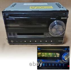 Pioneer Carrozzeria FH-P530MD-B Stereo CD MD Deck Car Audio from Japan
