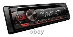 Pioneer DEH-S420BT Car CD Tuner Bluetooth Stereo USB AUX Apple Android Control