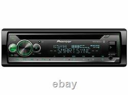 Pioneer DEH-S5100BT 1-DIN Car Stereo MP3 CD Receiver Player with Bluetooth USB Aux