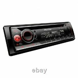 Pioneer DEH-S520BT CD MP3 Tuner Bluetooth USB iPhone Android Ready Car Stereo