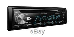 Pioneer DEH-S6000BS SiriusXM Ready Bluetooth In-Dash CD/AM/FM Car Stereo