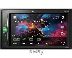 Pioneer DMH-220EX 6.2 Inch Double Din Car Multimedia Stereo Receiver