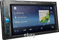 Pioneer DMH-220EX Car Stereo, 6.2 Touchscreen Receiver and Backup Camera Bundle