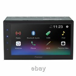 Pioneer DMH-340EX Bluetooth Apple 6.8 WVGA Touchscreen Car Stereo Receiver