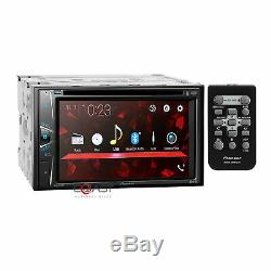 Pioneer DVD USB BT Camera Input Stereo Dash Kit Onstar Amp Harness for GM Chevy
