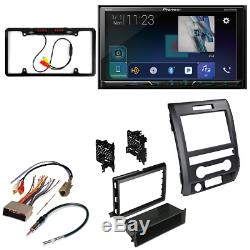 Pioneer DVD touchscreen+Bluetooth car stereo withdash kit for Ford F-150 2009-14