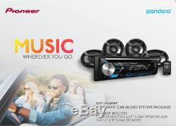 Pioneer DXT-S4069BT Car Stereo CD Receiver with built-in Bluetooth WithSpeakers