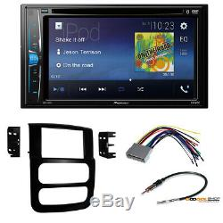 Pioneer Double DIN Car Radio Stereo install Dash Kit for 2004 Dodge Ram 1500