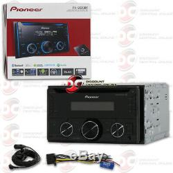 Pioneer Double Din 2din Mp3 CD Bluetooth Car Stereo Works With Pandora & Spotify