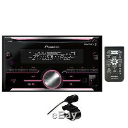 Pioneer FH-S500BT Double DIN Bluetooth In-Dash CD/AM/FM Car Stereo Receiver NEW