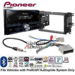 Pioneer FH-S500BT Double Din Car CD Stereo Radio Install Kit Bluetooth