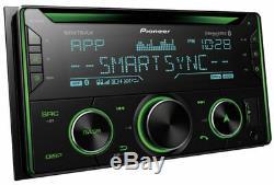 Pioneer FH-S720BS Double DIN Bluetooth CD MP3 Stereo Car In-Dash Receiver