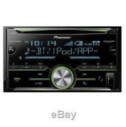 Pioneer Fh-x730bs 2-din CD Mp3 Usb Stereo Bluetooth Ipod Equalizer Car Stereo