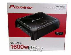 Pioneer GM-D8701 1600 W Max 1-CH Monoblock Stereo Car Audio Amplifier WithRemote