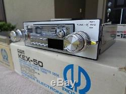 Pioneer KEX-50 CD-5 CD-115 GM-4 GM-120 Component Car Stereo