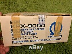 Pioneer KPX-9000 vintage car stereo NEW IN BOX