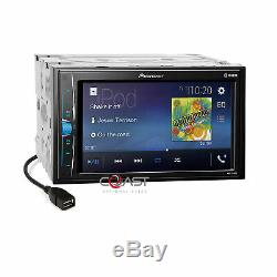 Pioneer MP3 USB BT Stereo Dash Kit Harness for 02-08 Audi A4 S4 Symphony Radio