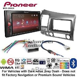 Pioneer MVH-200EX Double Din Car Stereo Radio Install Kit With Bluetooth