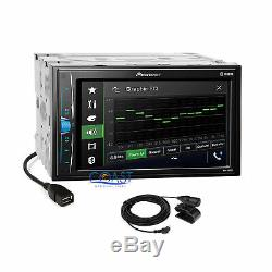 Pioneer Multimedia Stereo Dash Kit OnStar Interface for 03-07 Cadillac CTS SRX