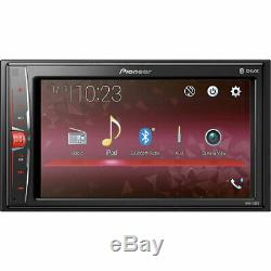 Pioneer Mvh-210ex Double 2-din 6.2 Touchscreen Car Stereo Multimedia Receiver