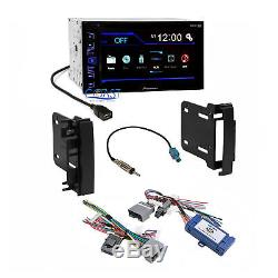 Pioneer Radio Stereo Dash Kit Harness Interface for 2007-up Chrysler Dodge Jeep