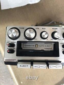 Pioneer Super Tuner KP-500 Cassette Car Stereo FM Stereo with Mounting Bracket