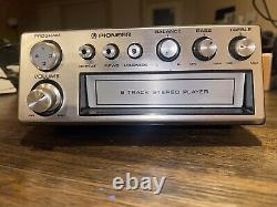 Pioneer TP-900 FM Stereo 8-Track Tape Player Car Radio Clean installed NOS Mint