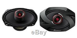 Pioneer TS-6900PRO 100W RMS 6 x 9 Pro Series 2-Way Coaxial Car Stereo Speakers