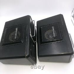 Pioneer TS-X6 Car Stereo Speakers Pair Untested Vintage See Description