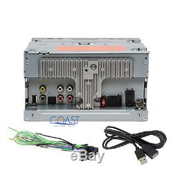 Pioneer Touchscreen Car Stereo 2 DIN Dash Kit Harness for 2007-11 Nissan Altima