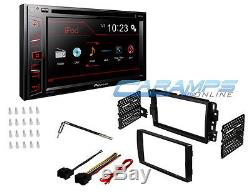 Pioneer Touchscreen Double 2 Din Car Stereo Radio Deck W Dash Installation Kit