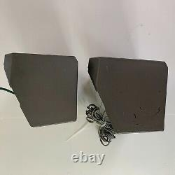 RARE PIONEER TS-X4 Car Cab Truck Stereo Speakers Two Way 20 60 Watts Vintage
