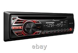Single DIN Car Stereo AM/FM CD MP3 Receiver with Wireless Remote Control