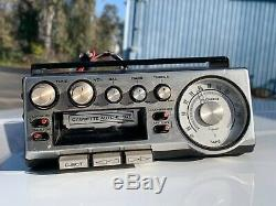 VTG Pioneer KP-500 Car Stereo Radio Cassette Player / Tuner WORKS SILVER FACE