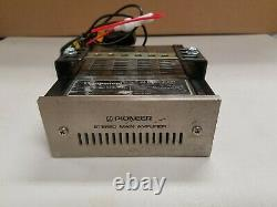 Vintage Pioneer Component Car Stereo Stereo Main Amplifier GM-40 20W+20W